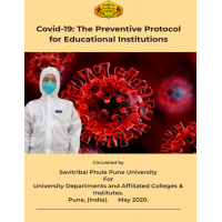Covid-19: The Preventive Protocol for Educational Institutions