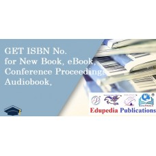 Get an ISBN no for New Book, eBook, AudioBook, Conference, Seminars, Workshops Proceedings